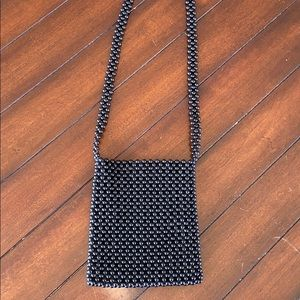 Urban Outfitters Black Beaded Purse